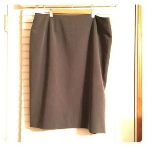 My lovely Charcoal Grey Pencil Skirt